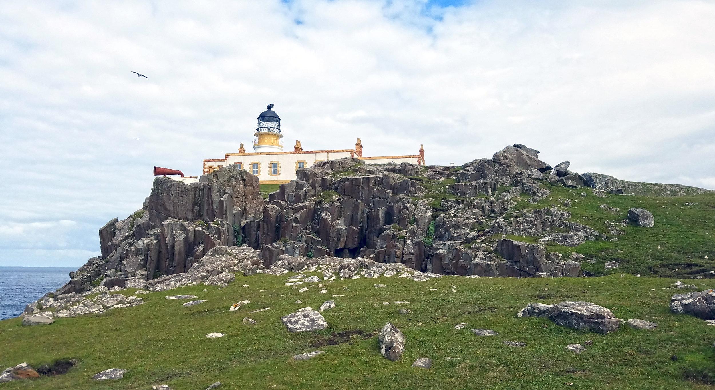 Neist Point Lighthouse Close