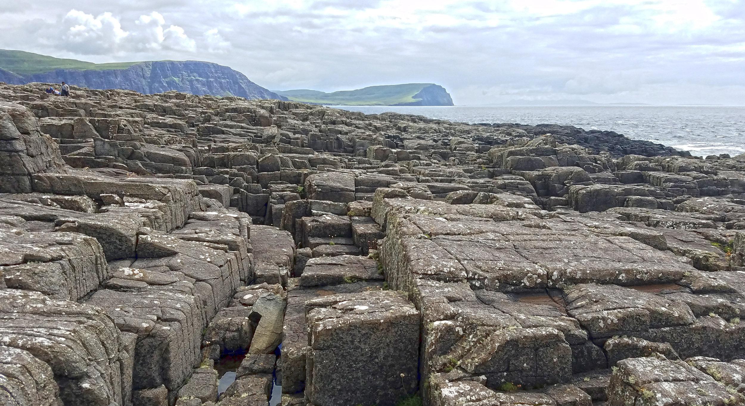 """Neist Point Vertical Stone """"Beach."""""""
