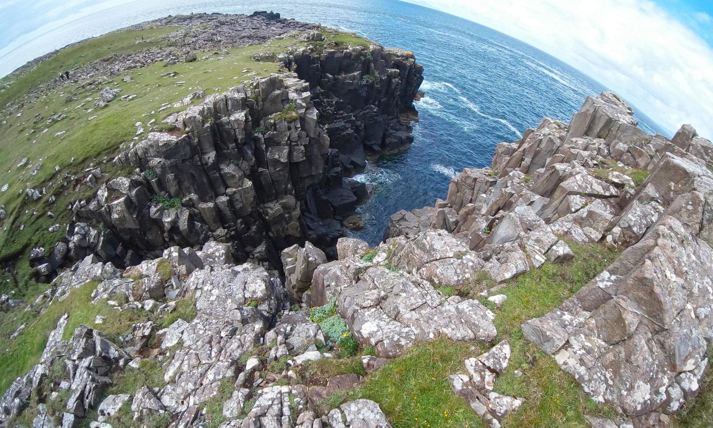Niest Point Cliffs Fisheye