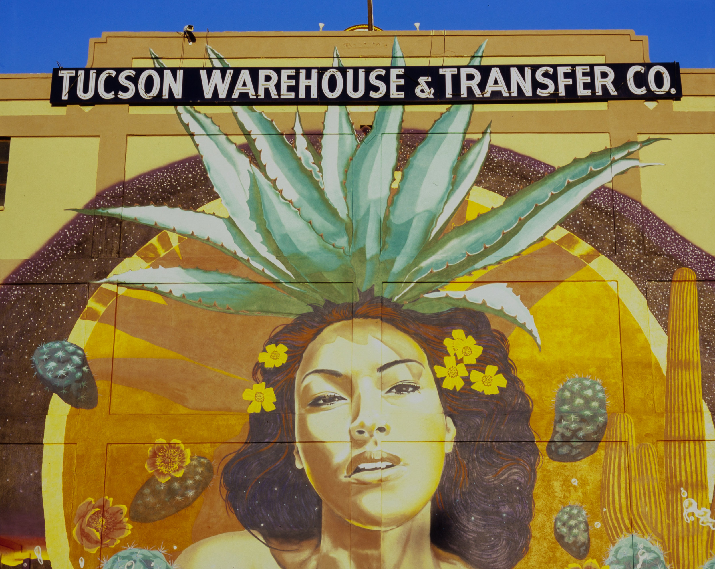 "Mural: ""Mayahuel (Goddess of Agave)"" by Rock ""CyFi"" Martinez"