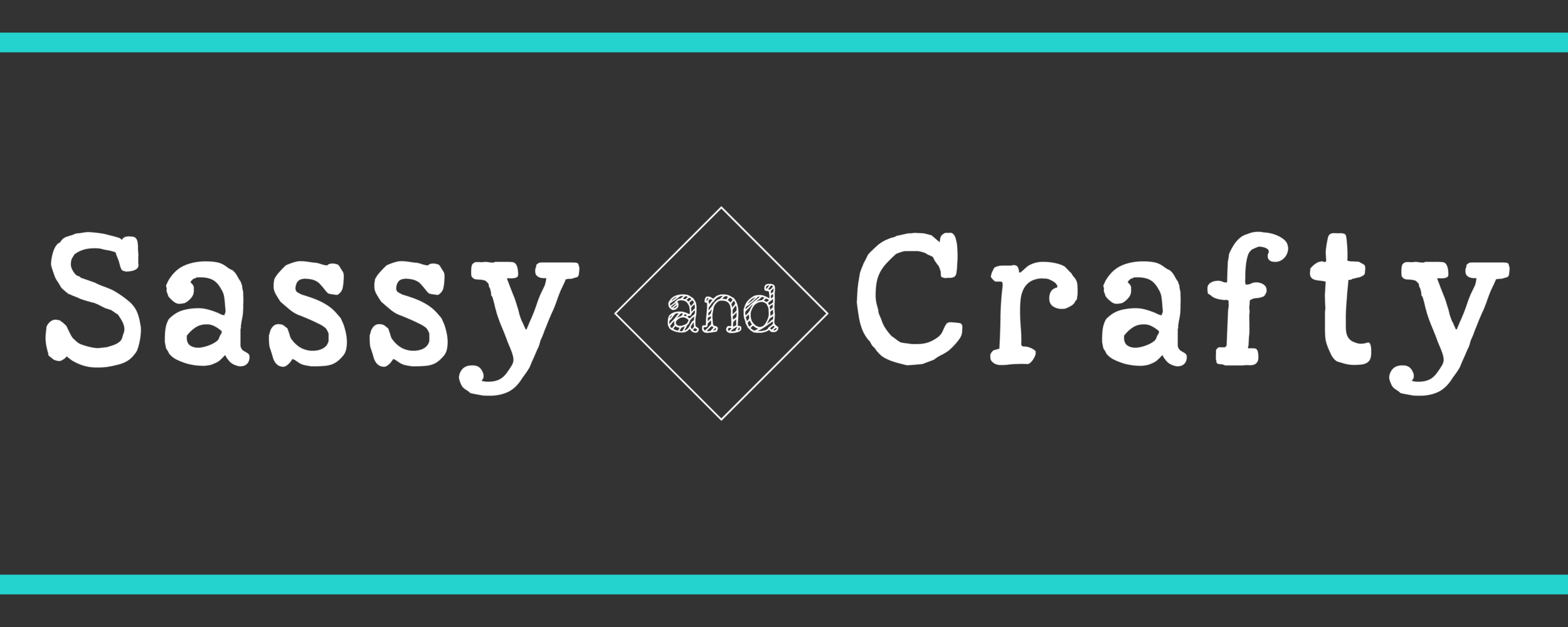 A simple header with an emphasis on the title. Perfect for craft and diy blogs.