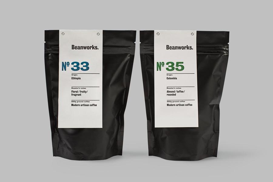 Beanworks Coffee Packaging