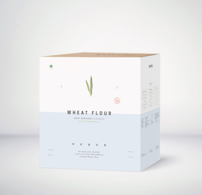 Great Northern Wheat Flour Packaging