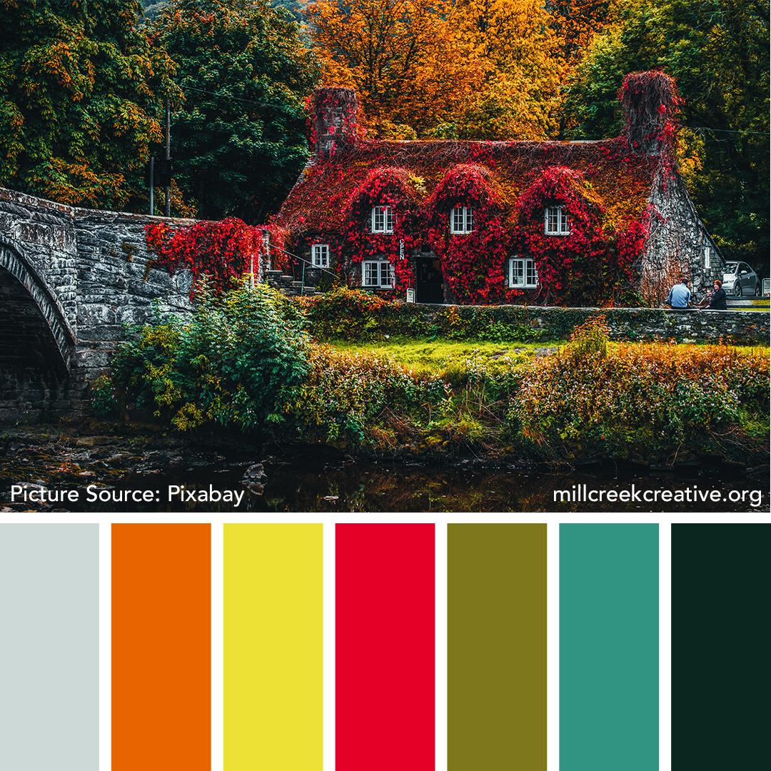 Autumn Cottage Color Palette