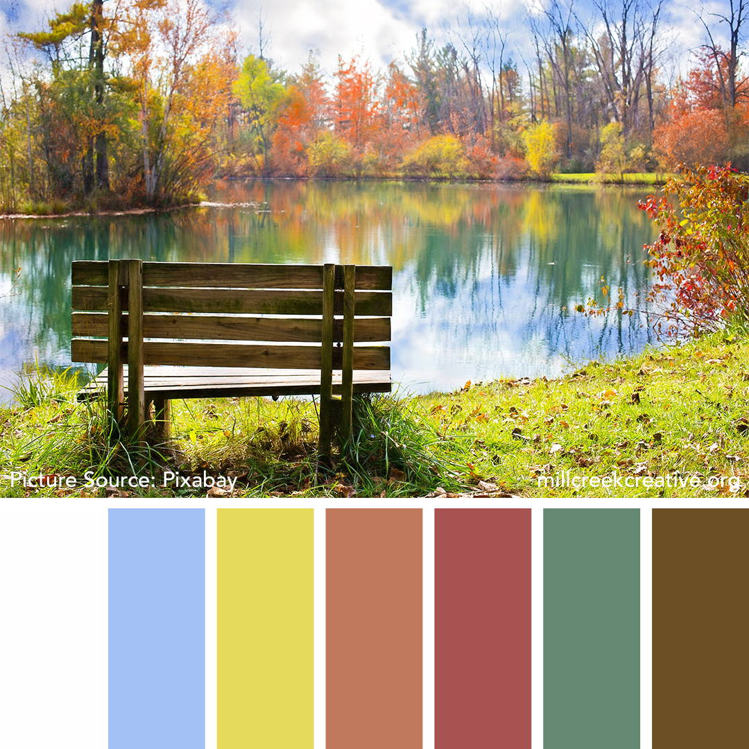 A Day At the Park Color Palette