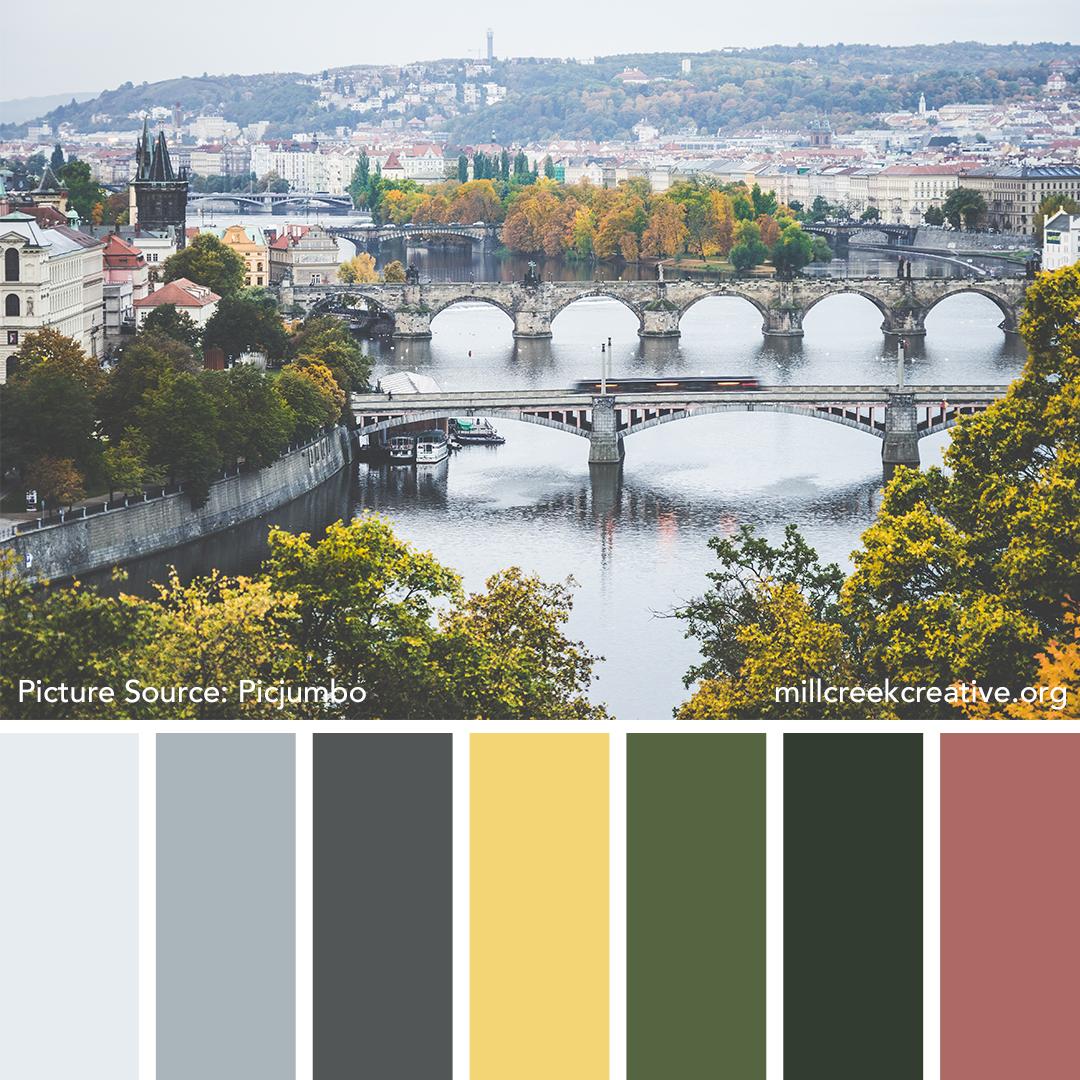 Autumn Morning in Prague