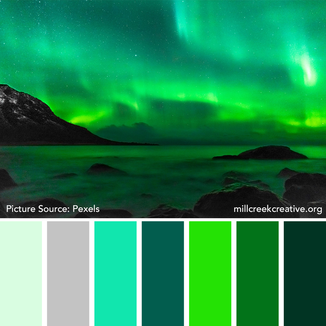 Northern Lights Color Palette | Mill Creek Creative