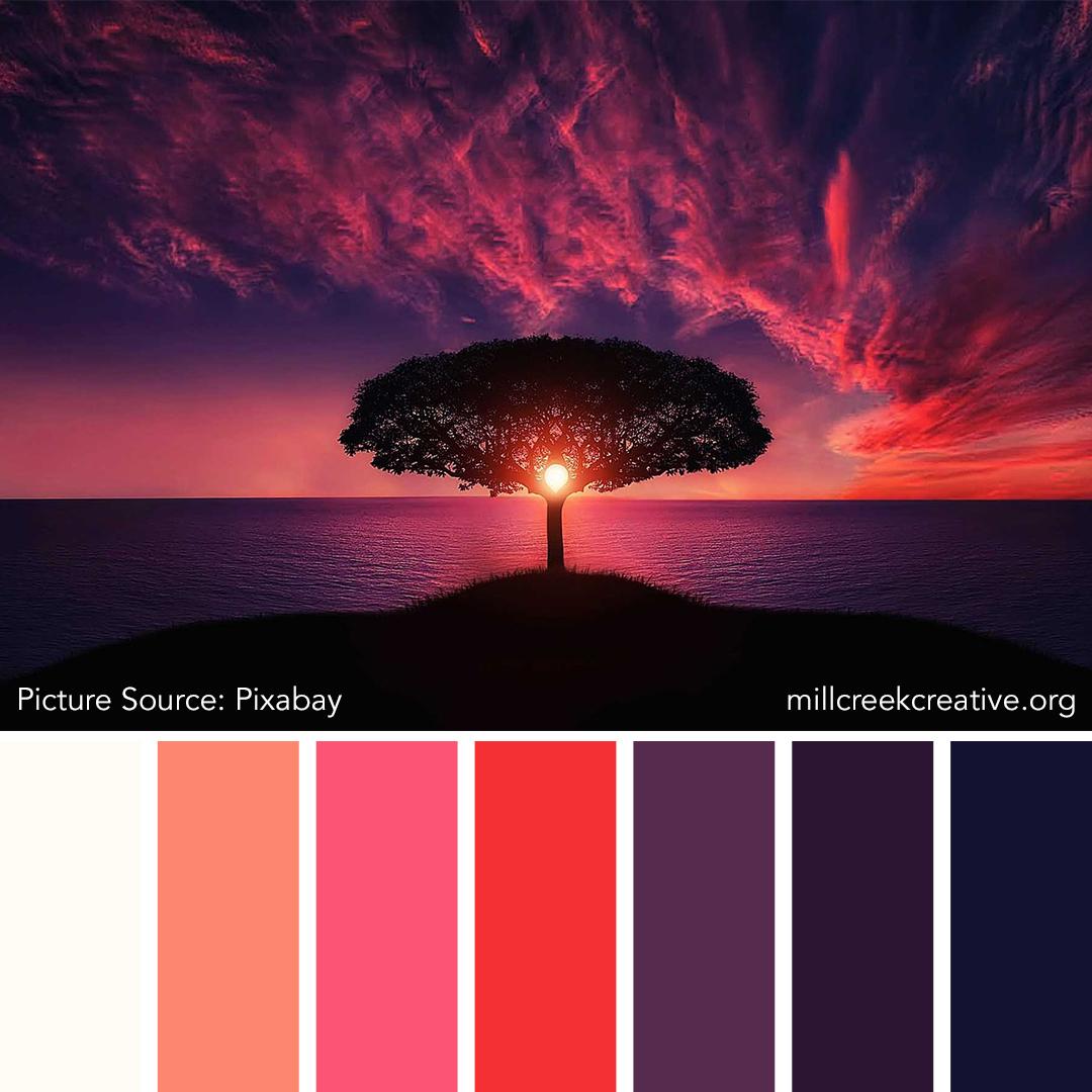 Moon Tree Color Palette | Mill Creek Creative