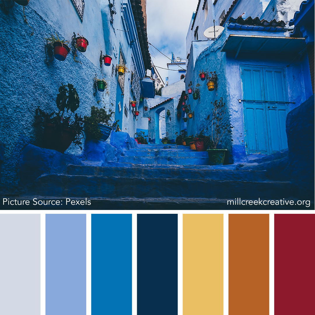 Color Palette for Design Inspiration | Mill Creek Creative