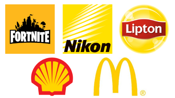 Famous Yellow Logos