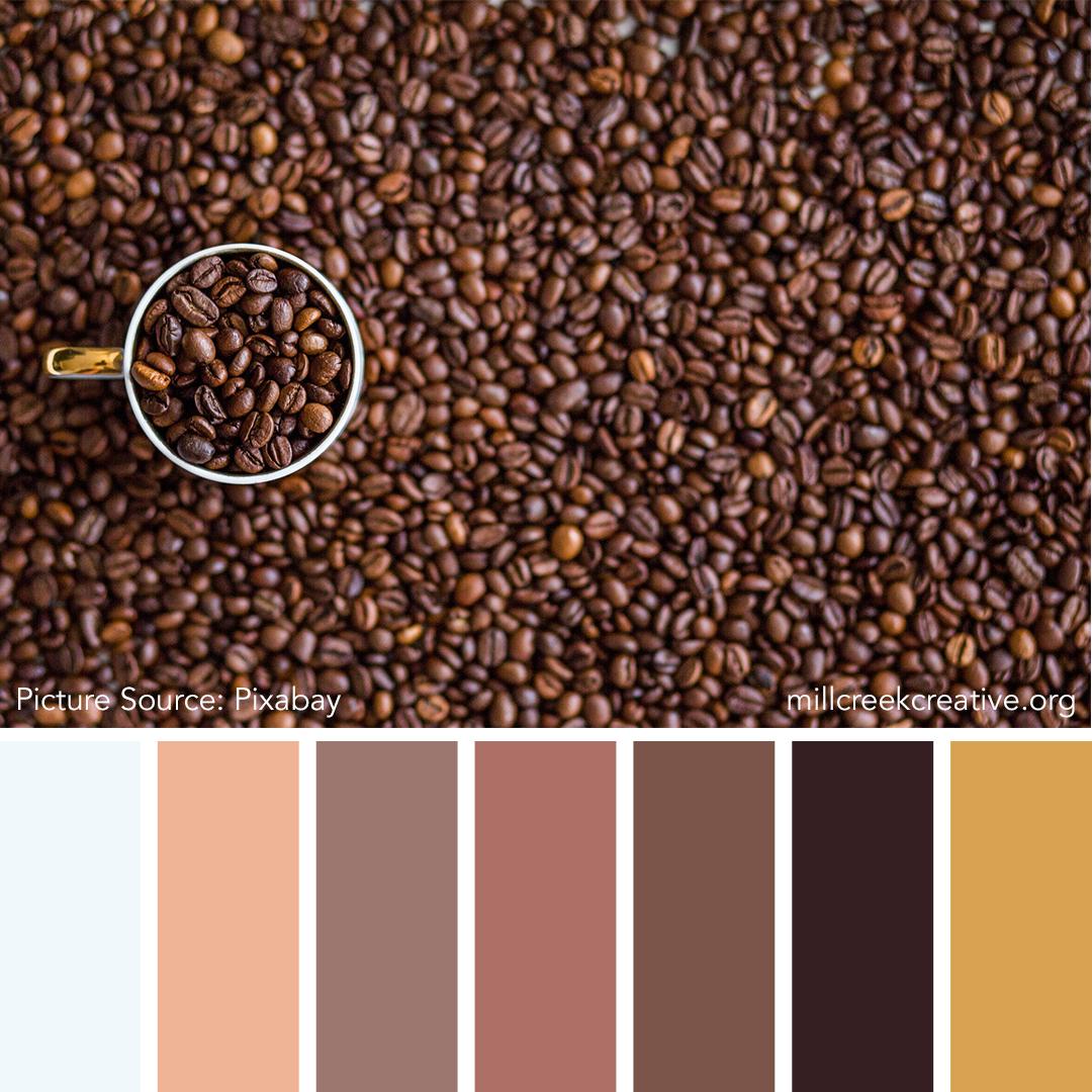 Color Palette for Design Inspiration | Mill Creek Creative