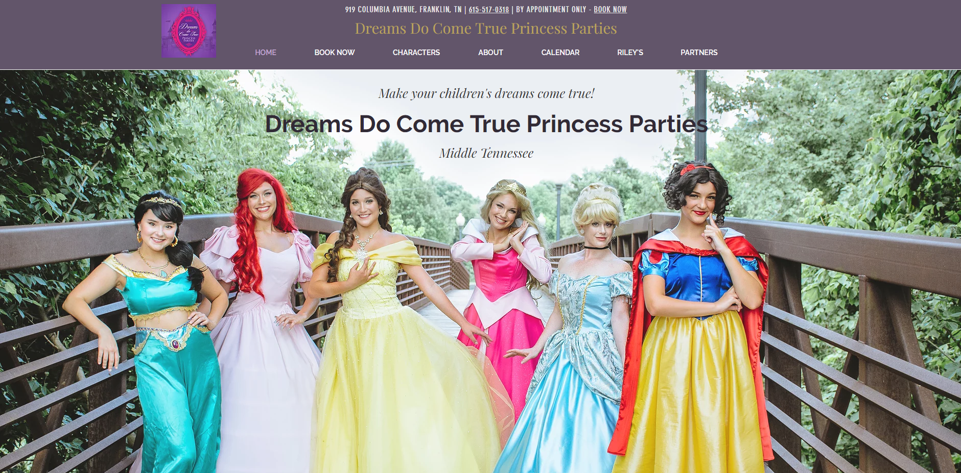 Dreams Do Come True Princess Parties