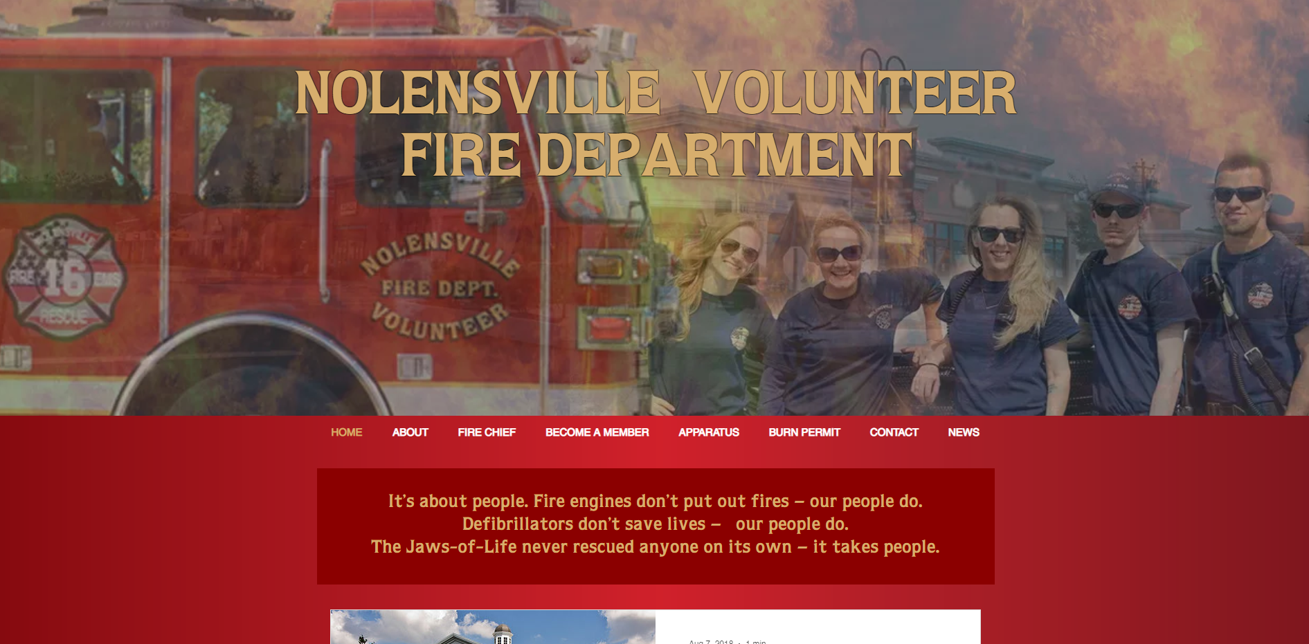Nolensville Volunteer Fire Department Website by Mill Creek Creative.PNG