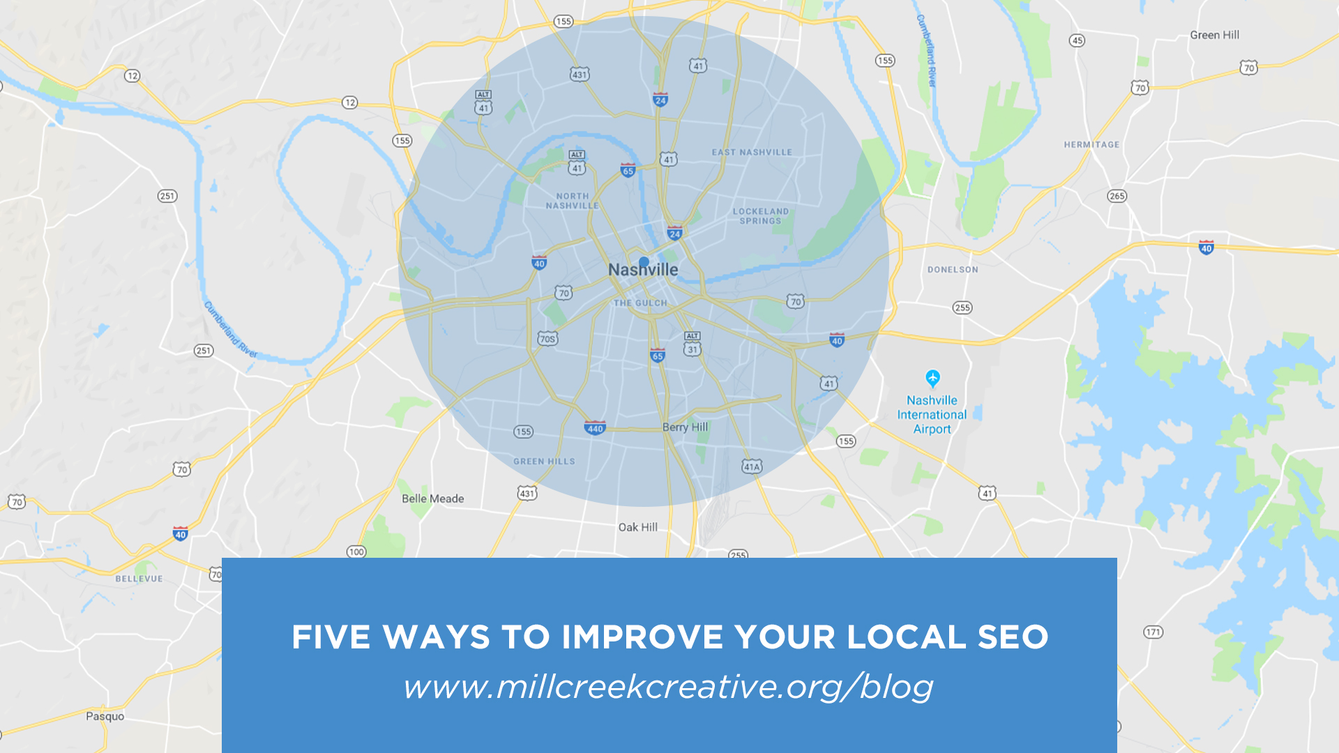 Five Ways To Improve Your Local SEO | Mill Creek Creative
