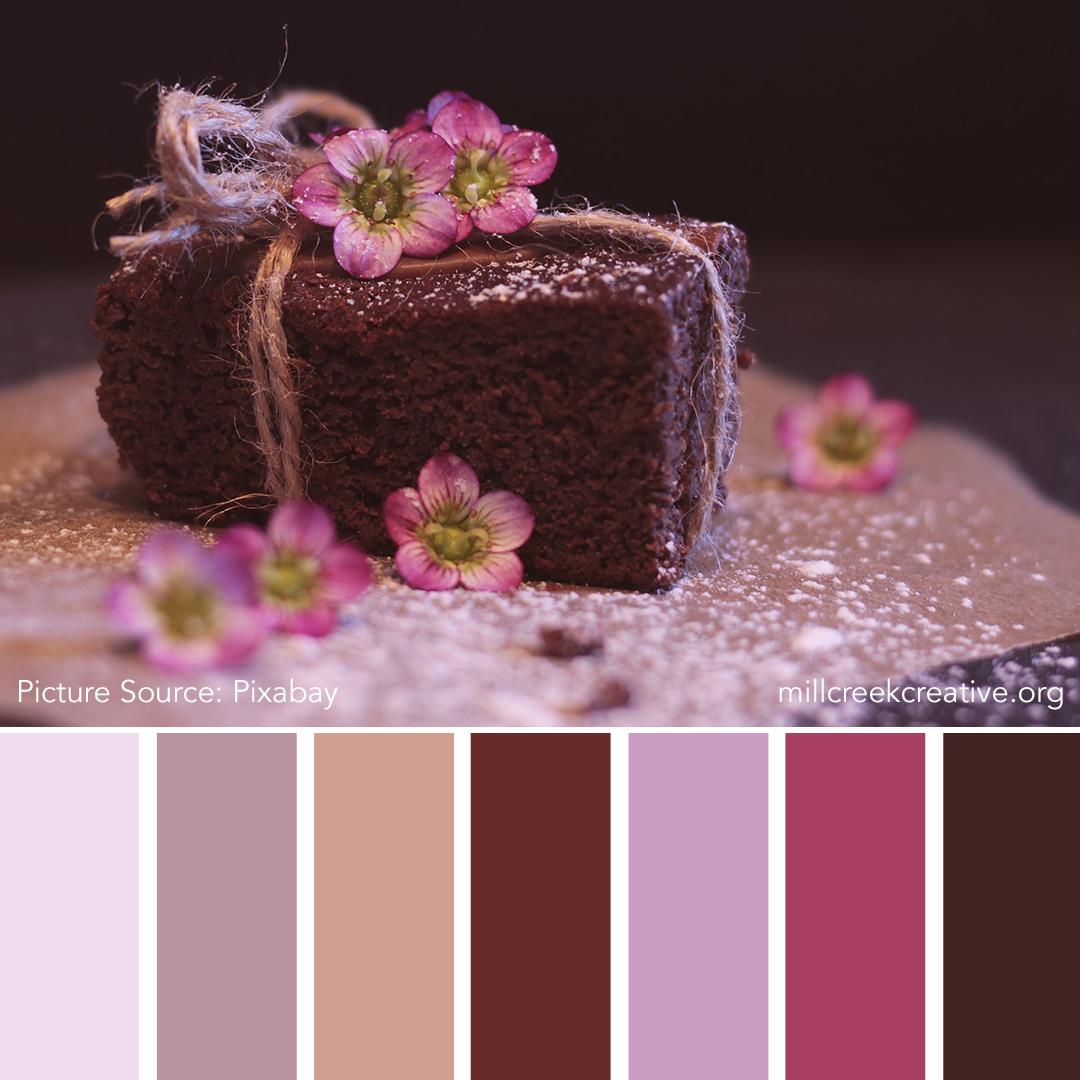 Chocolate Dessert  Color Palette | Mill Creek Creative