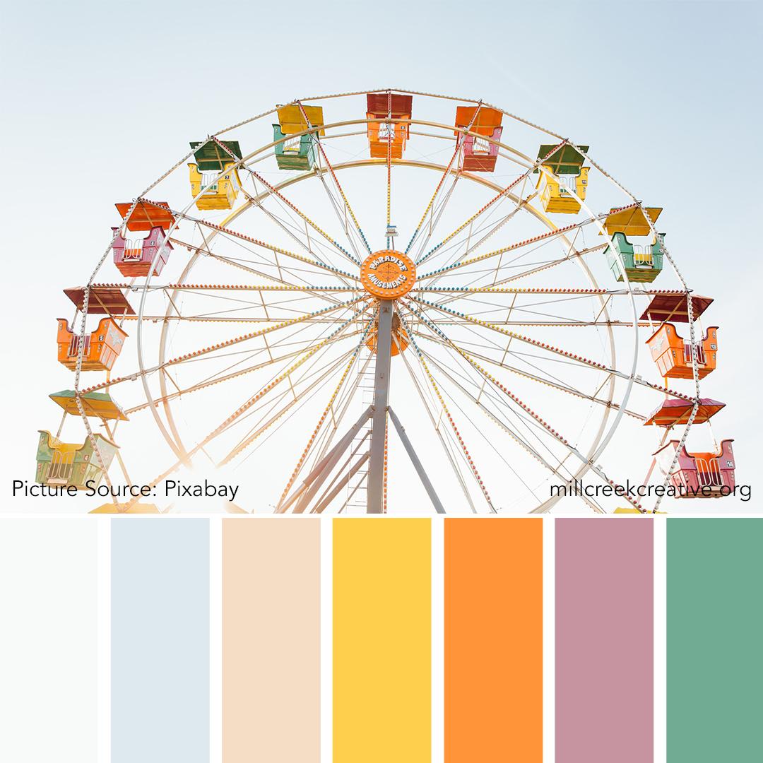 Ferris Wheel Color Palette | Mill Creek Creative