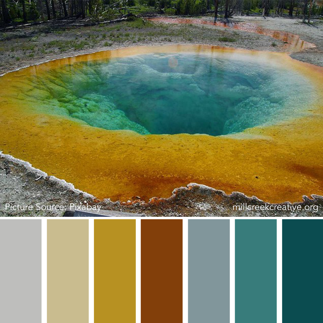 Yellowstone Park Color Palette | Mill Creek Creative