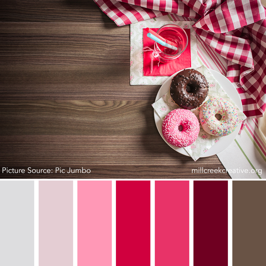 Donut Color Palette | Mill Creek Creative