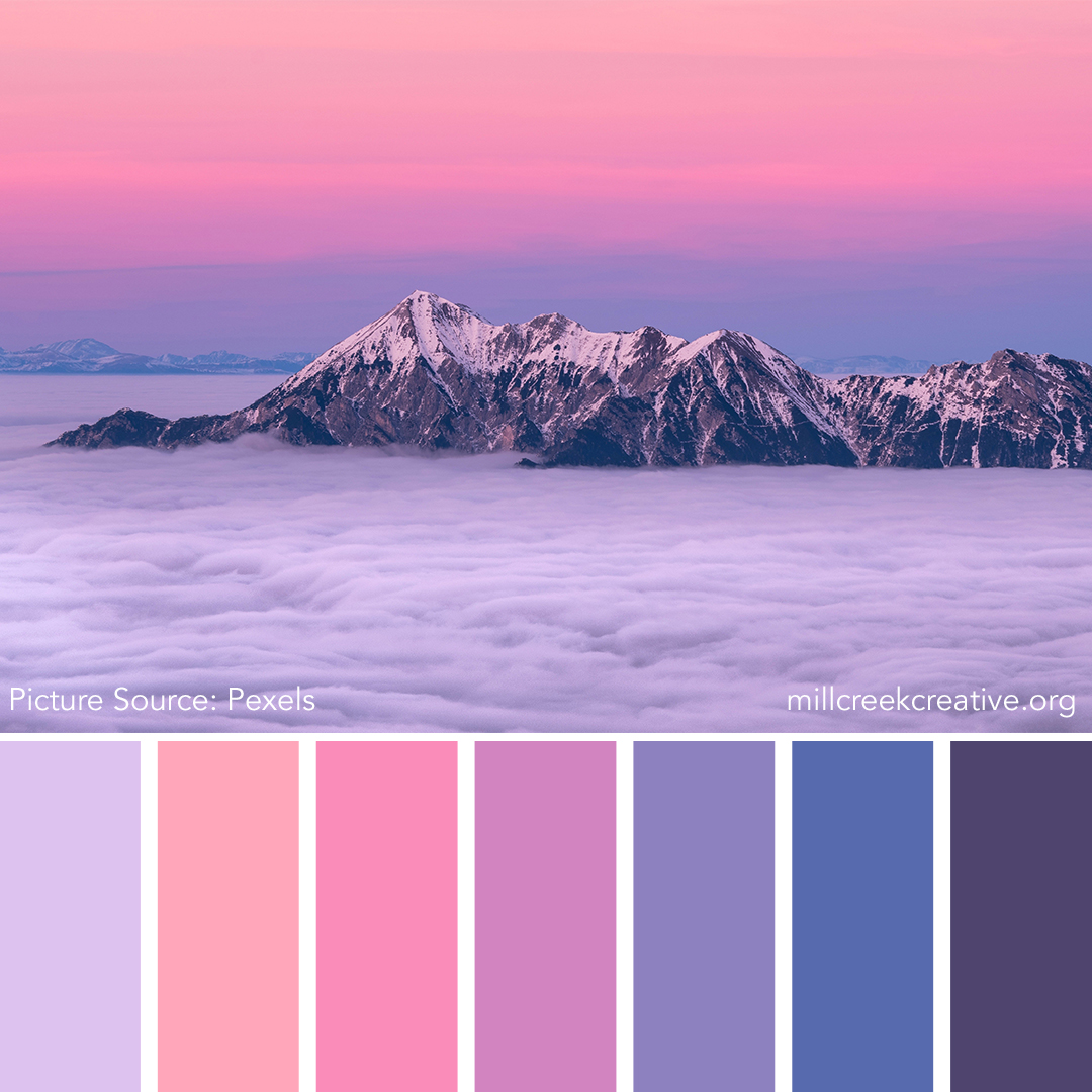 Big Rock Candy Mountain - Spring Color Palette