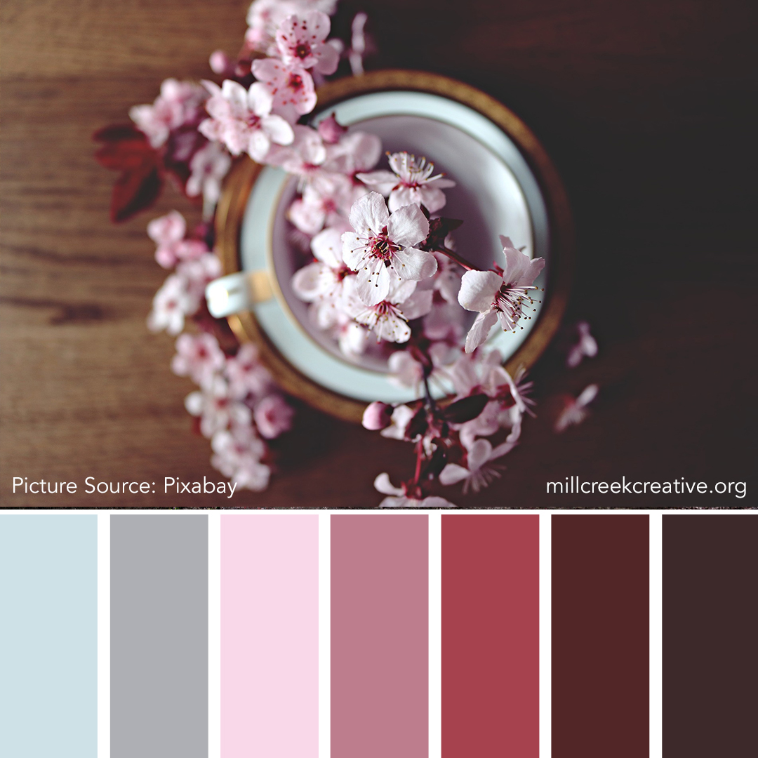 Cherry Blossoms - Spring Color Palette