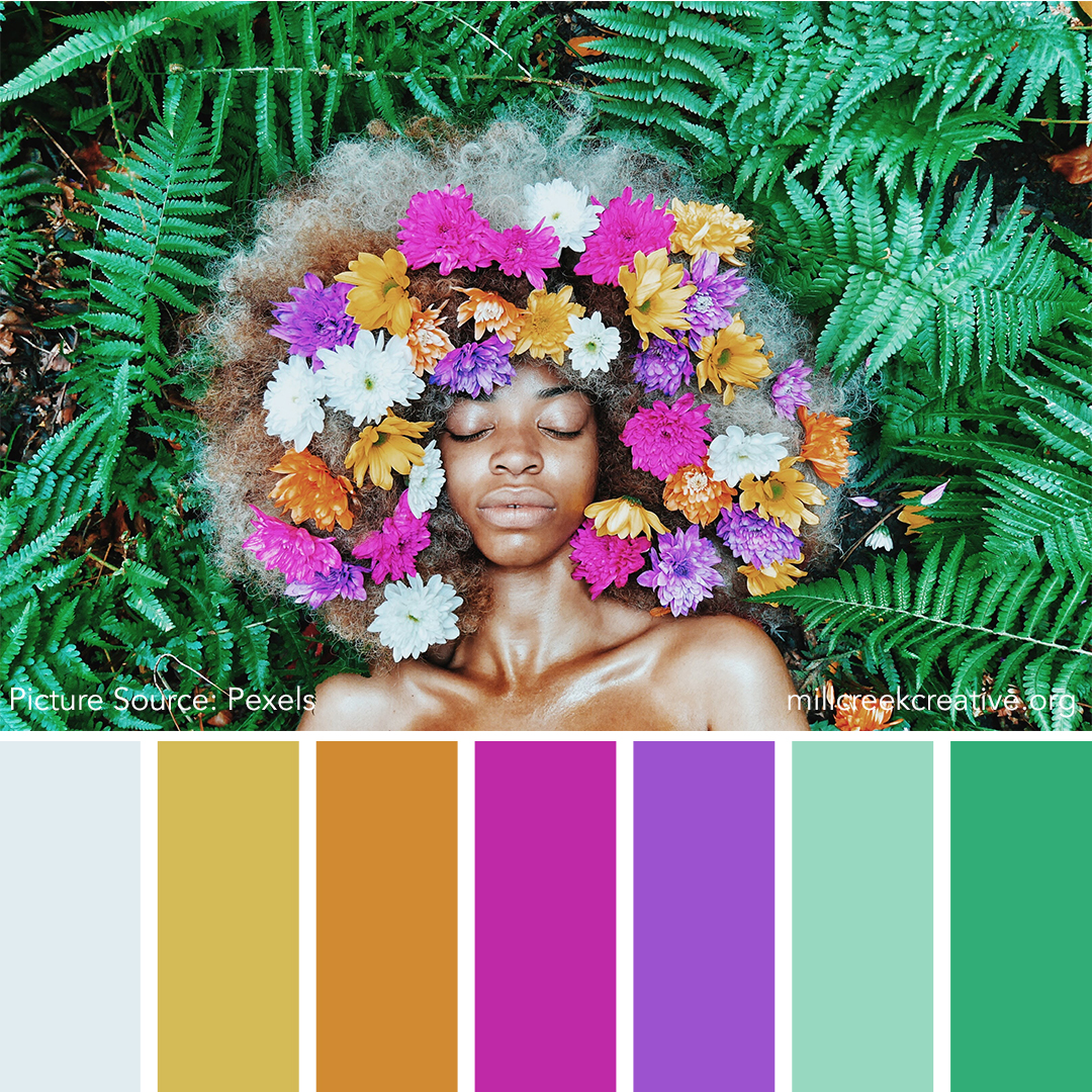 Black Girl Magic - Spring Color Palette