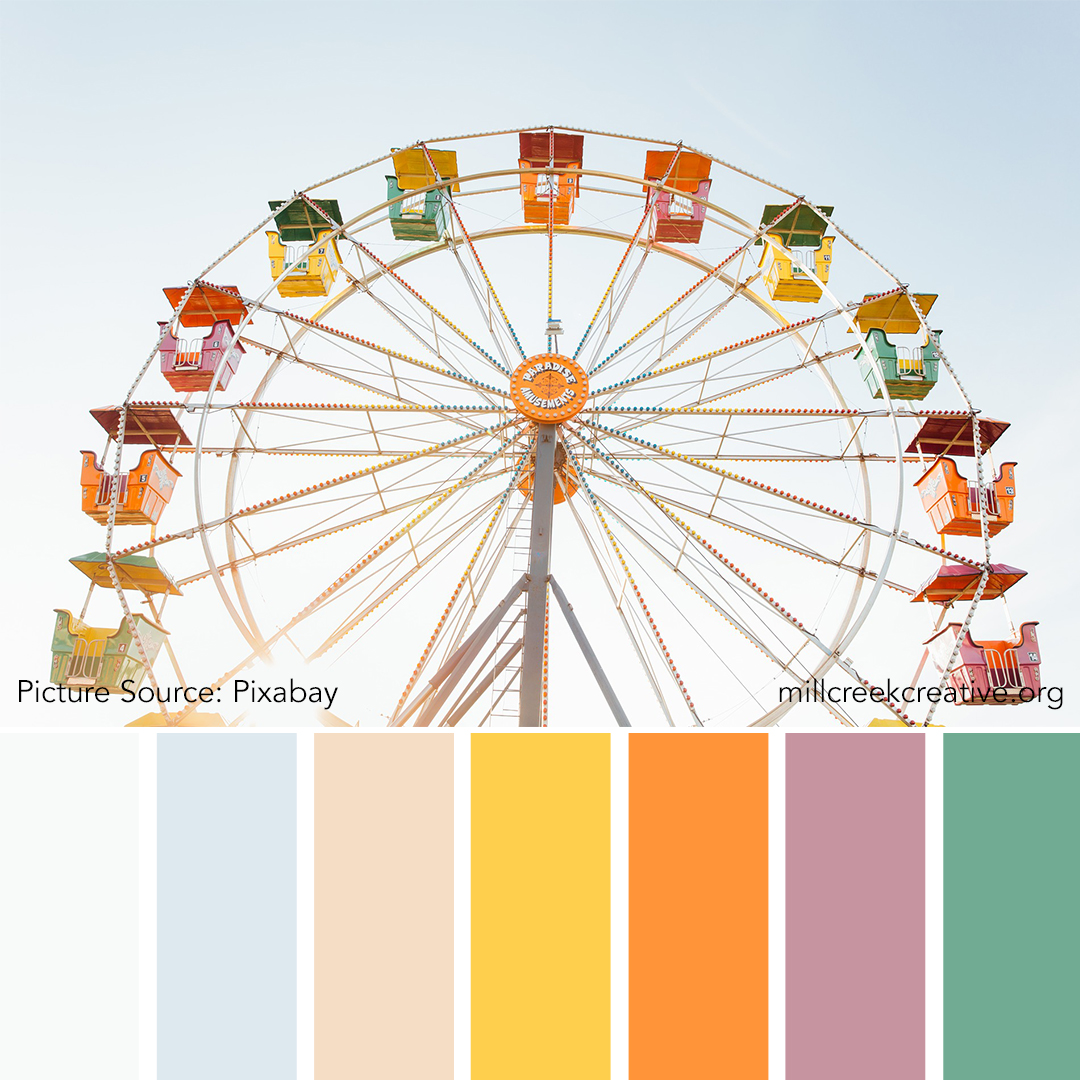 County Fair - Spring Color Palette