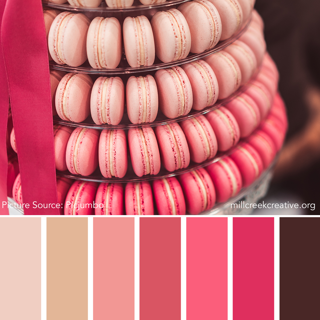 Pretty In Pink - Spring Color Palette