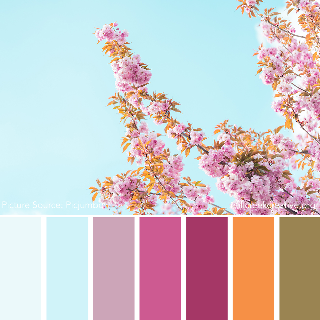 Reach for the Sky - Spring Color Palette