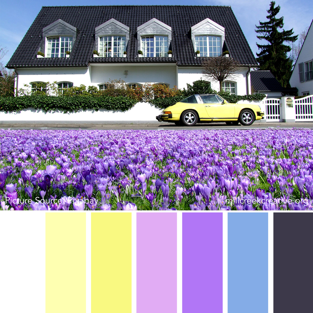 Spring at the Villa - Spring Color Palette