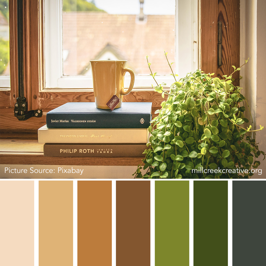 Well Read | Color Palette for Design Inspiration | Mill Creek Creative