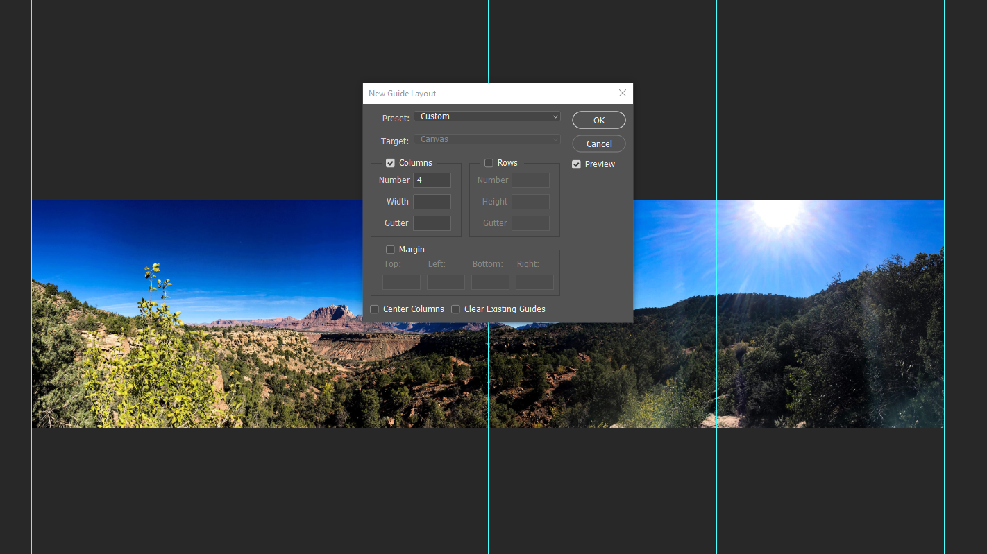 Photoshop Tutorial: Easily Turn A Panorama Into An Instagram Gallery | Mill Creek Creative