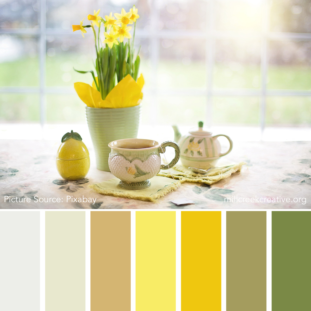 Afternoon Tea | Color Palettes for Design Inspiration | Mill Creek Creative