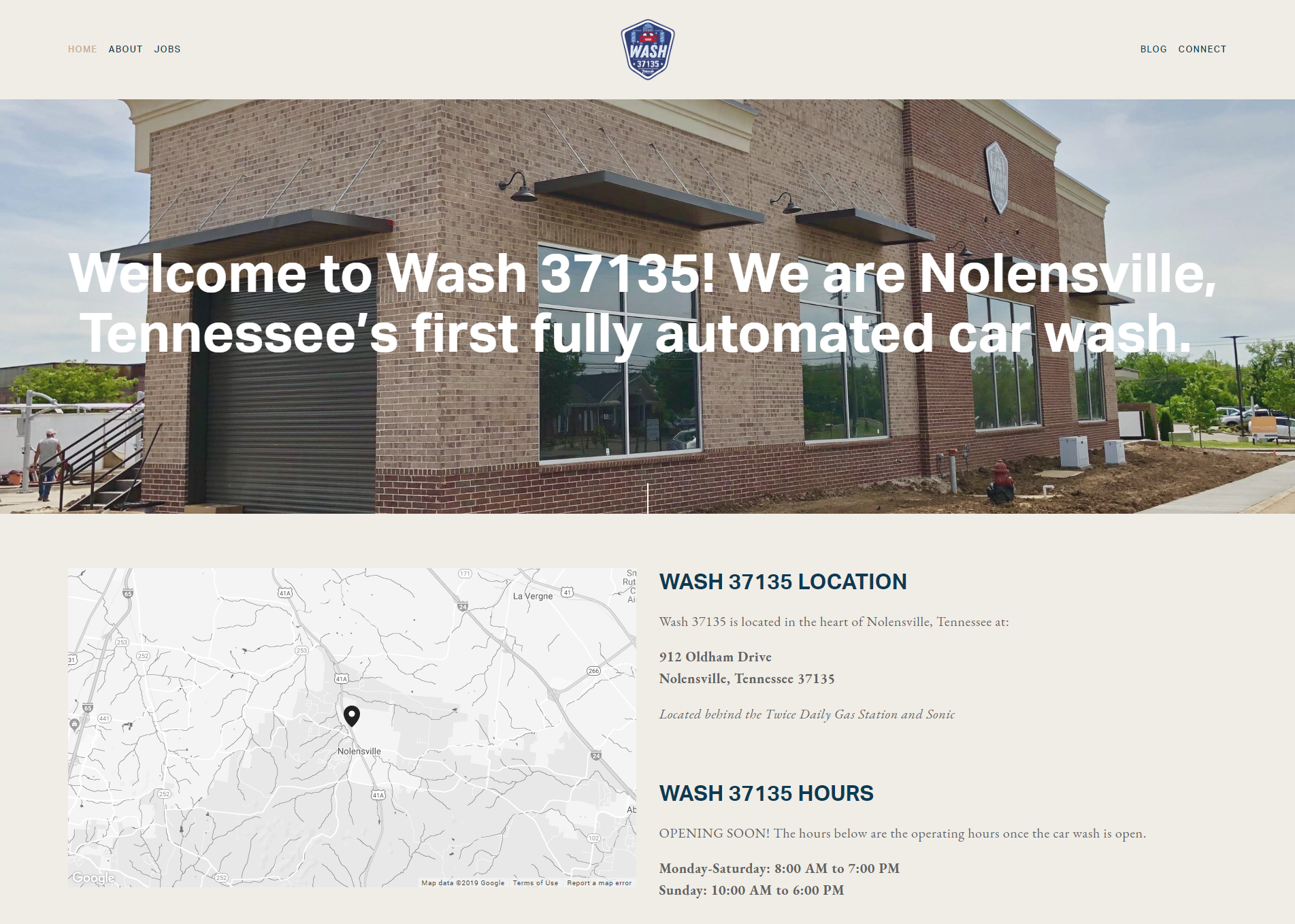 Wash 37135 Website | Designed by Mill Creek Creative