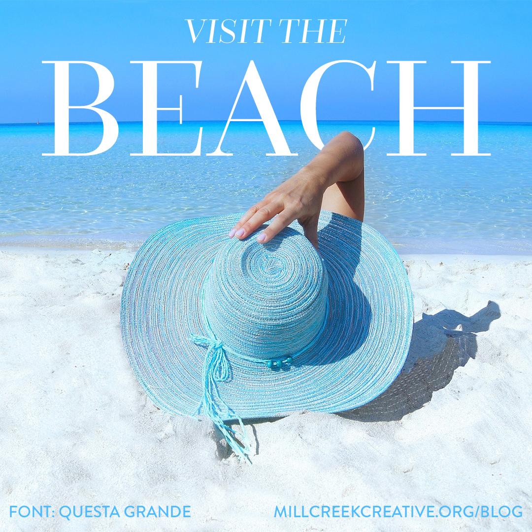Questa Grande | Free Summer Font | Mill Creek Creative