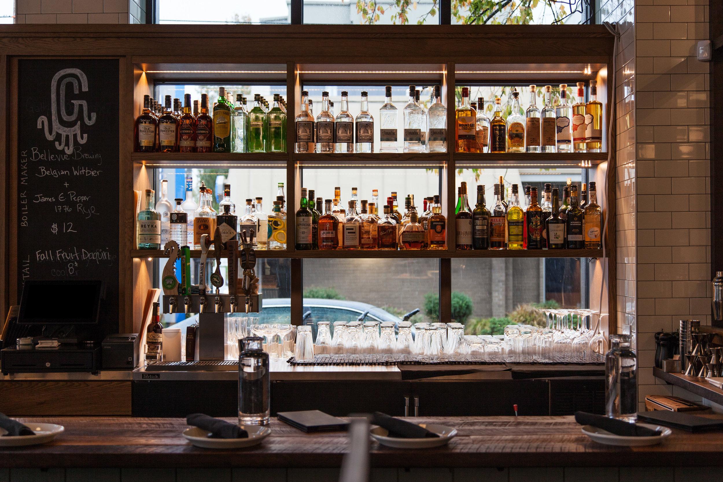 Bar + Wine Menu   Gather Kitchen & Bar