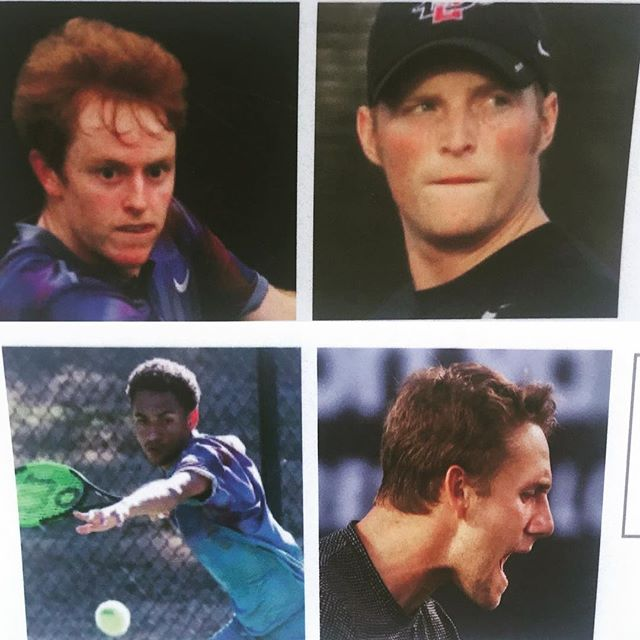 Stalder/ Nicholas vs Johnson/ Kawka in doubles finals today 6:30 pm!! Let's go!! #doublelove2018