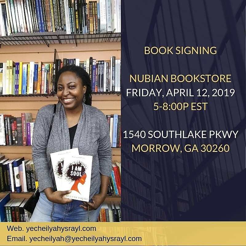 Nubian Bookstore Signing - 4.12.2019