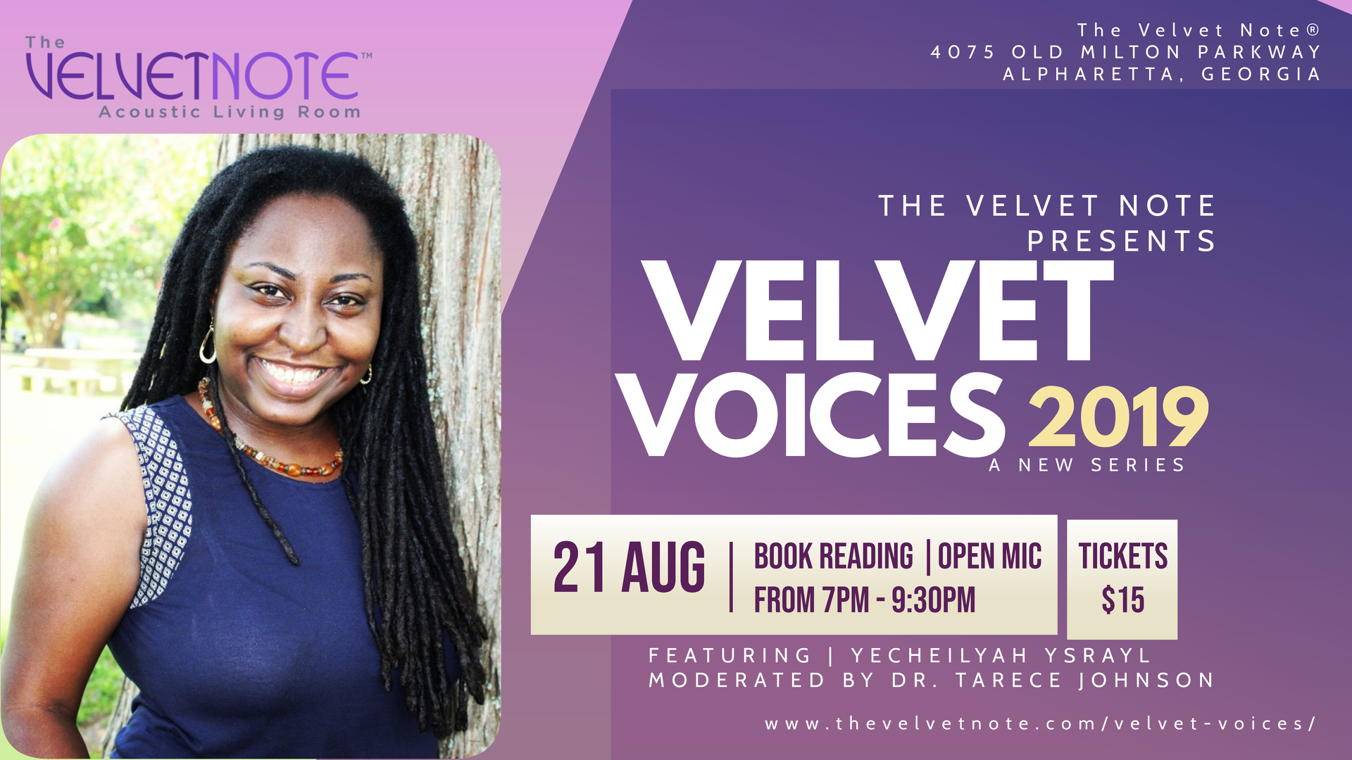 Velvet Voices - Wednesday, August 21, 2019