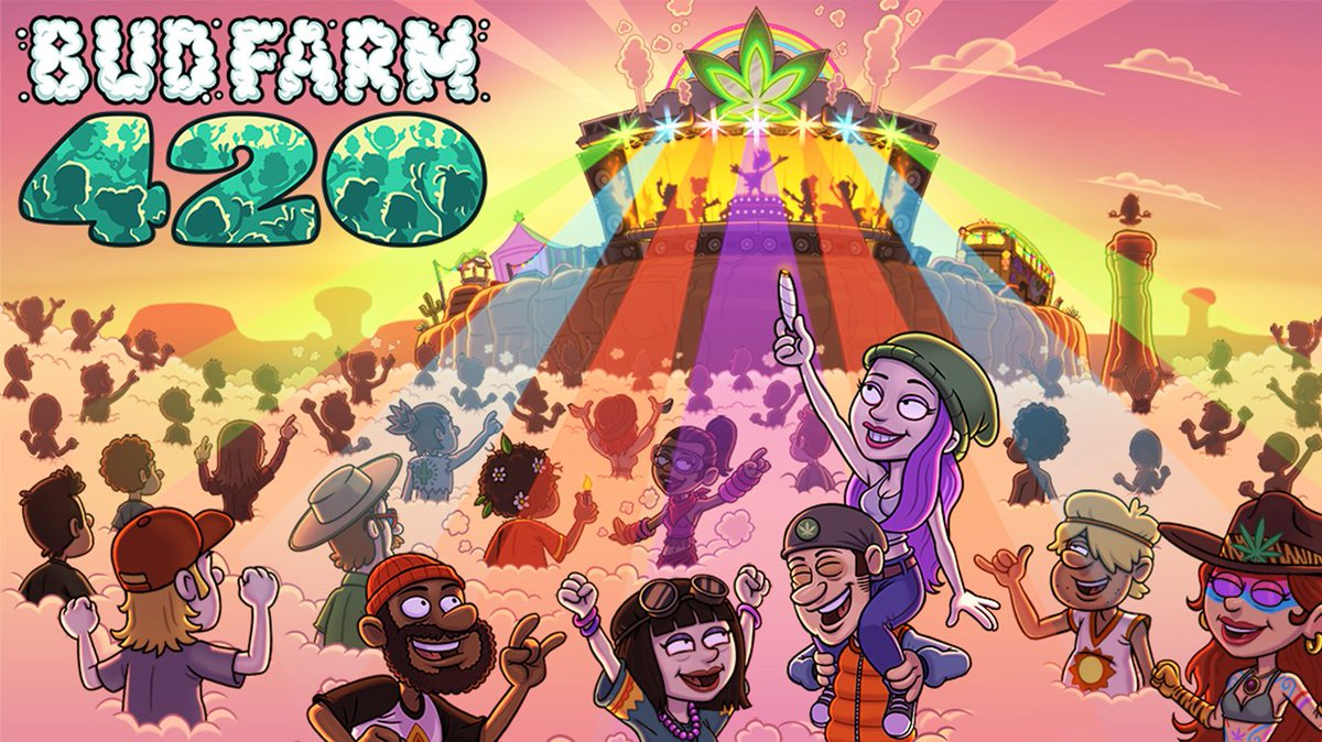 Bud Farm 420 - Description:Bud Farm: 420 is a light-hearted weed farming simulation intended for an adult audience.Help Shorty and Dave transform the Mesa from junk to crunk! Build your festival, bring in the people, grow and sell the virtual pot you need to keep the party going.Roles:Quality Assurance AnalystAssistant Writer