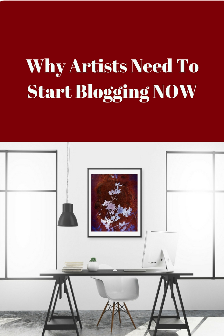 Why Artists Need To Start Blogging NOW