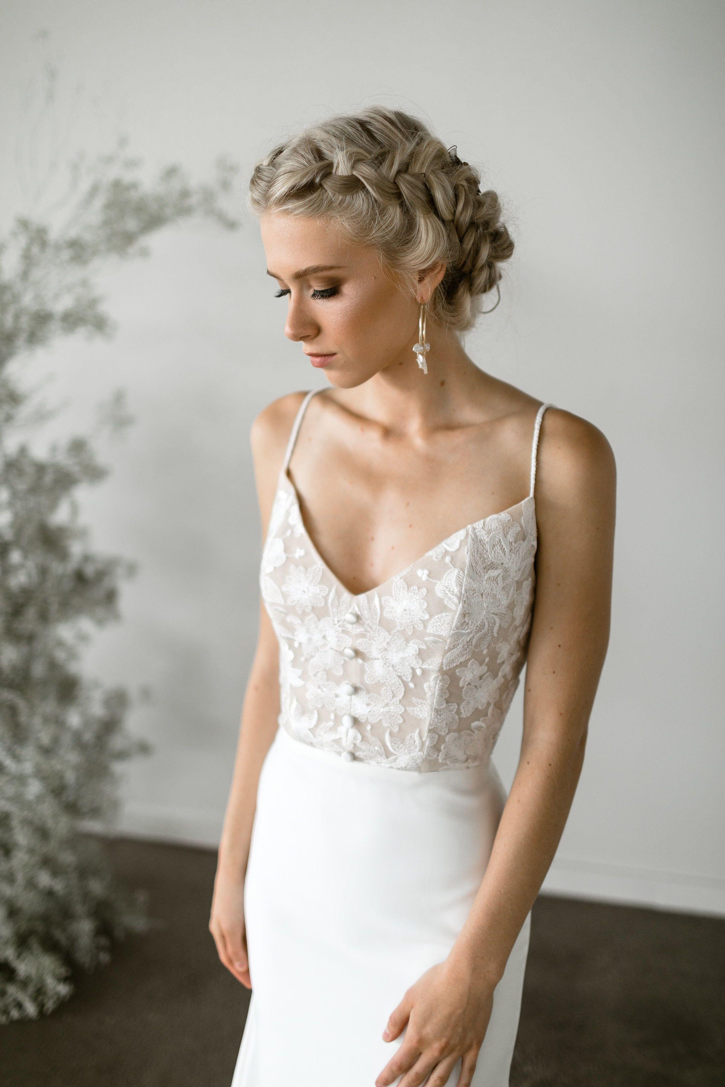 Couture Modern Wedding Dress St Louis