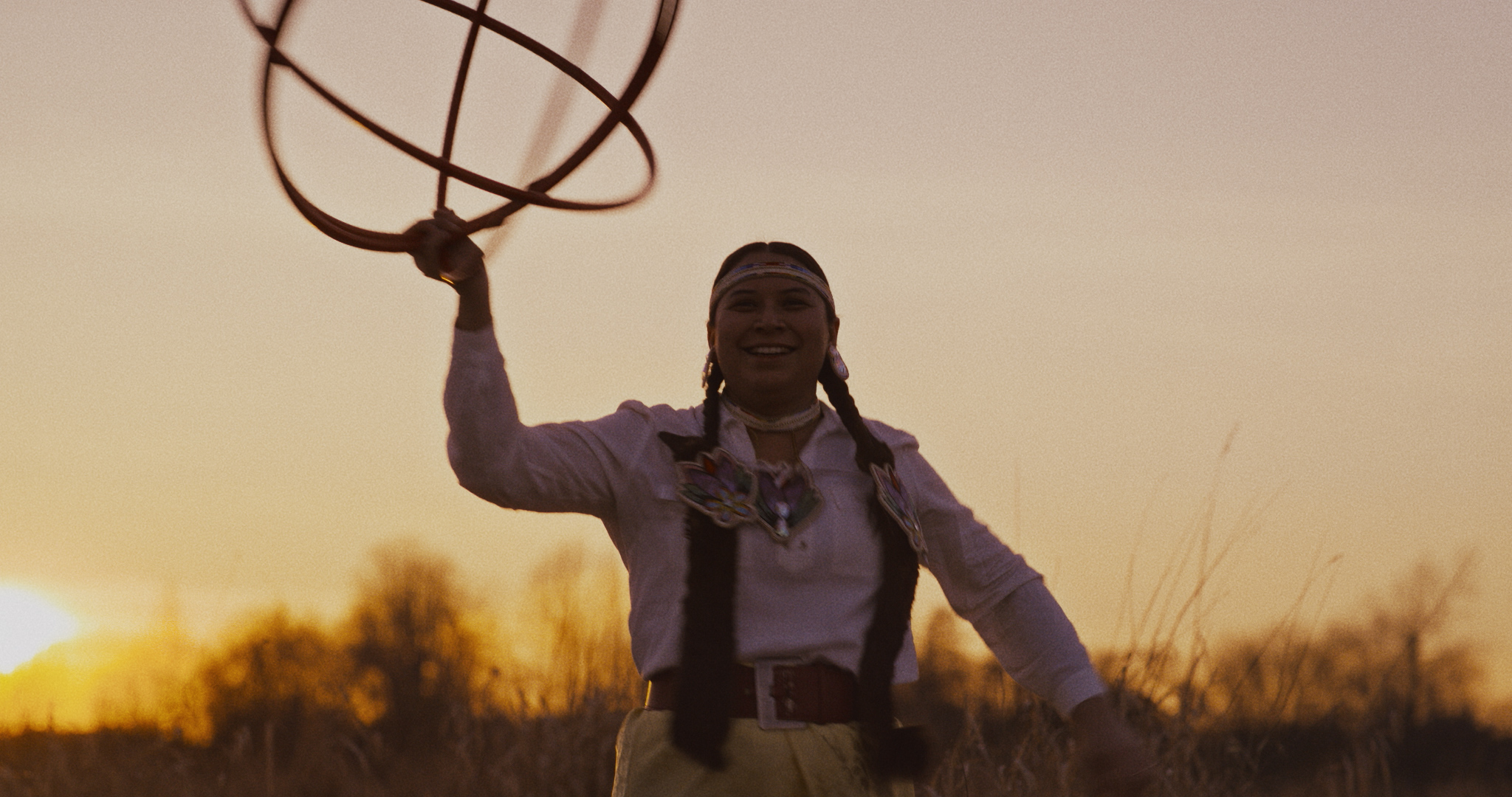 "IIKITAPIIT    ""…tells story of Indigenous women through strong imagery."""