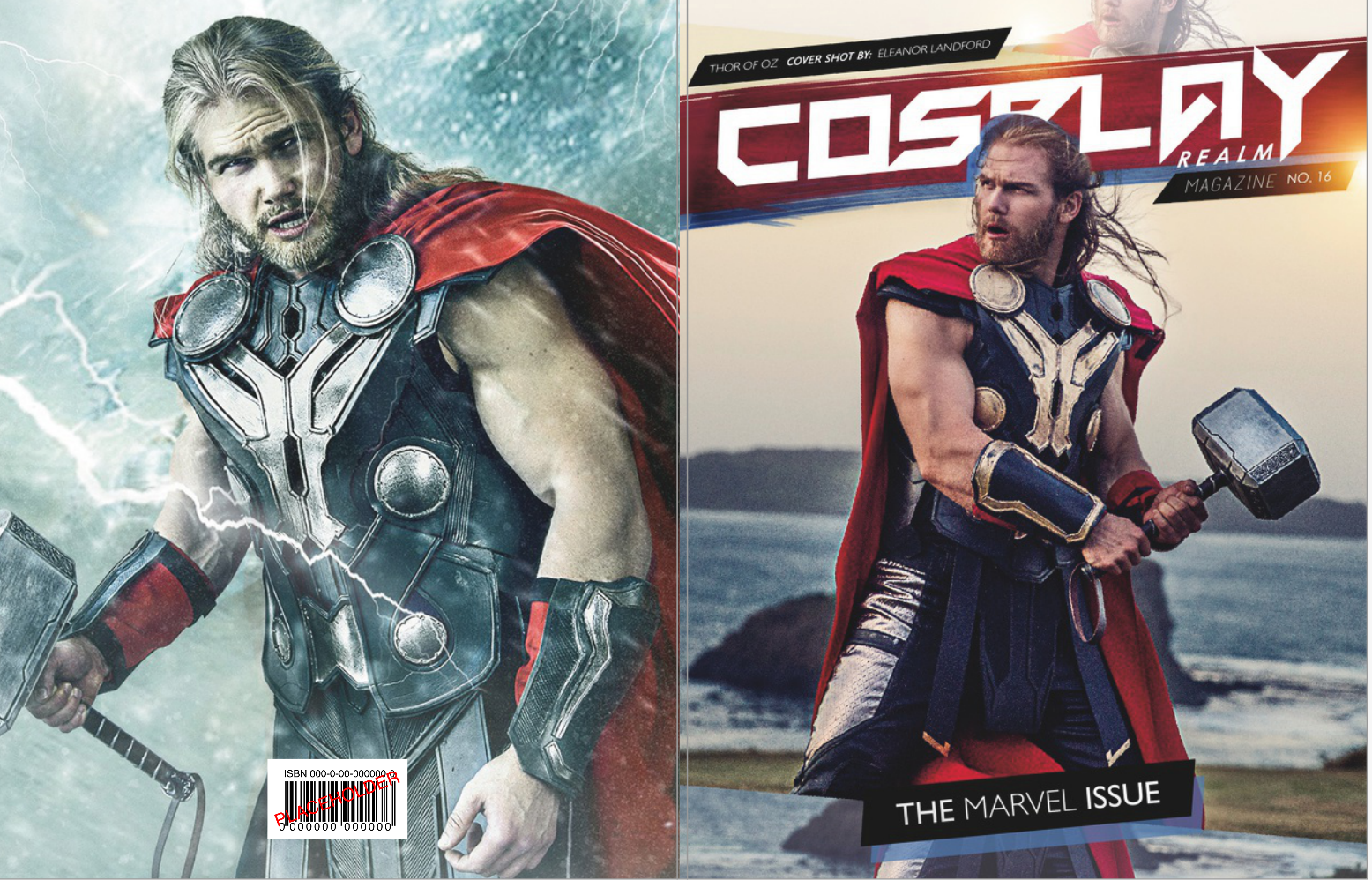 Cover: Thor of Oz shot by Eleanor Landford