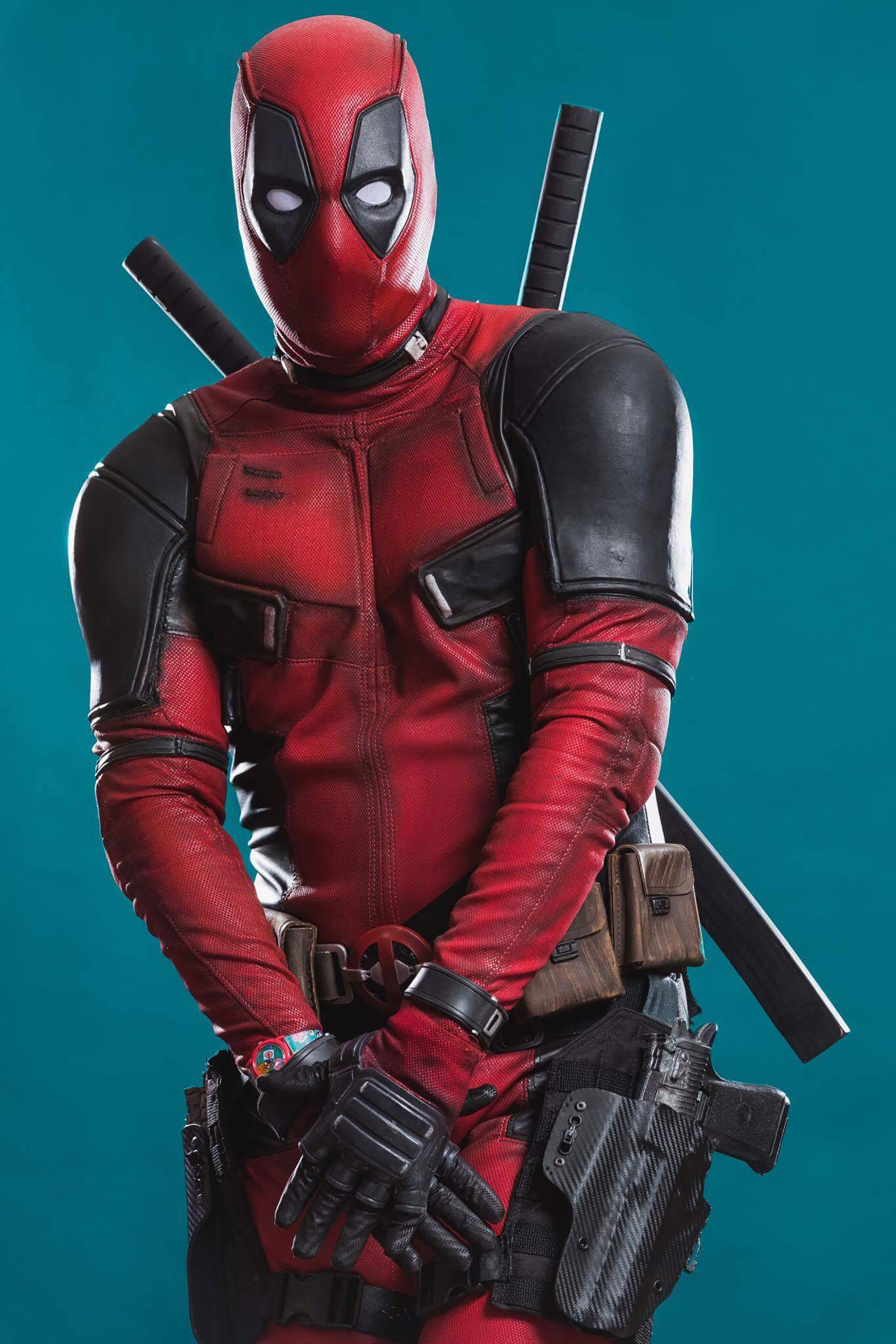 Deadpool cosplay by Mark Knight Rises | Photo by: David Love