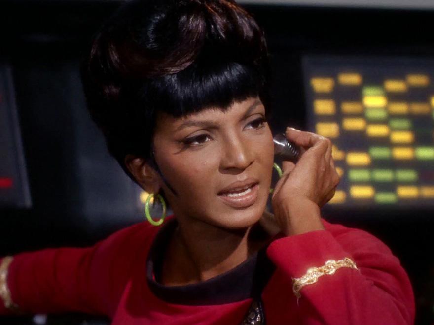 Nichelle Nichols as Uhura