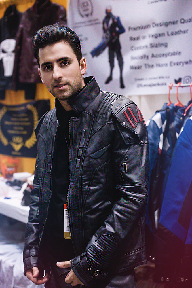 Luca CEO of Luca Jackets