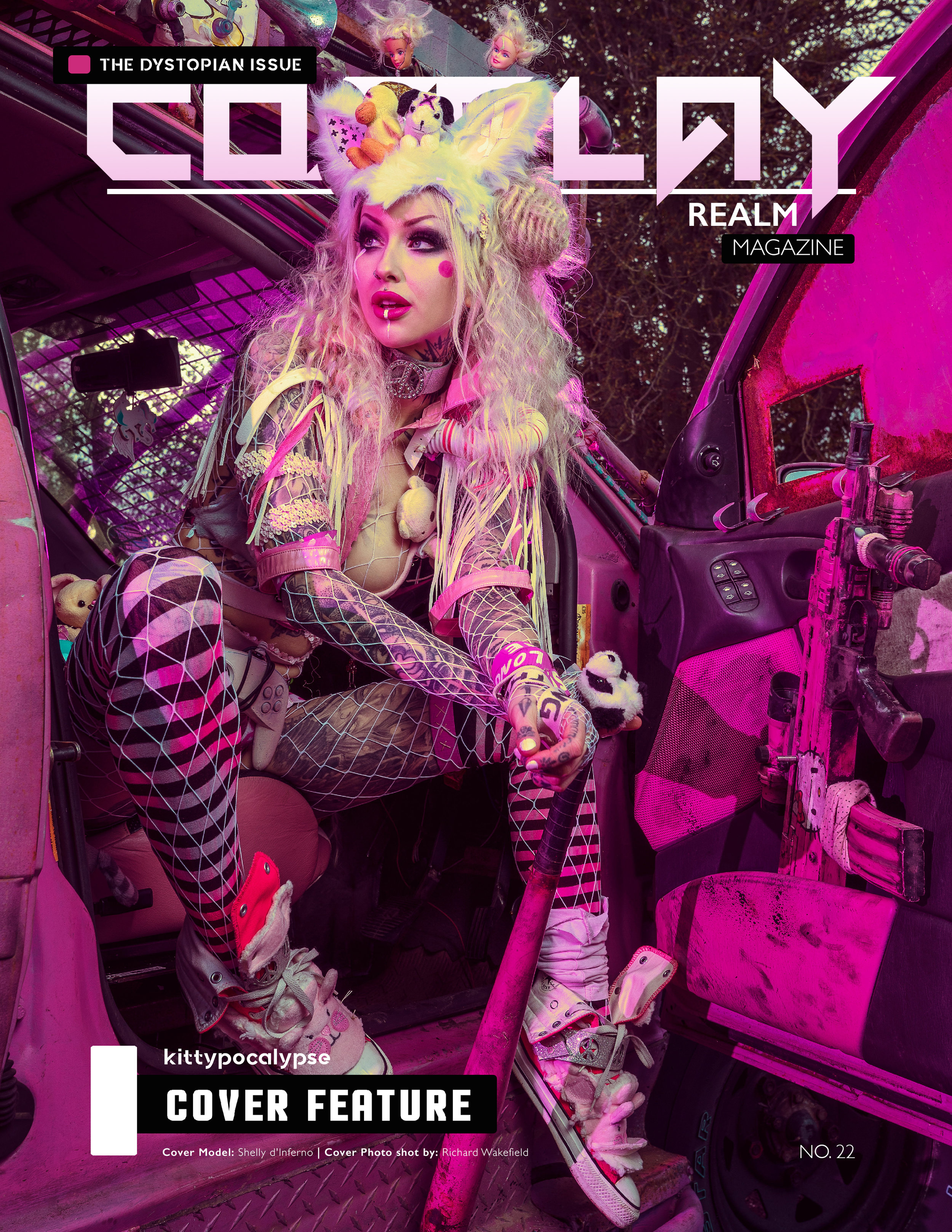 Cosplay Realm No. 22 - The Dystopian Issue