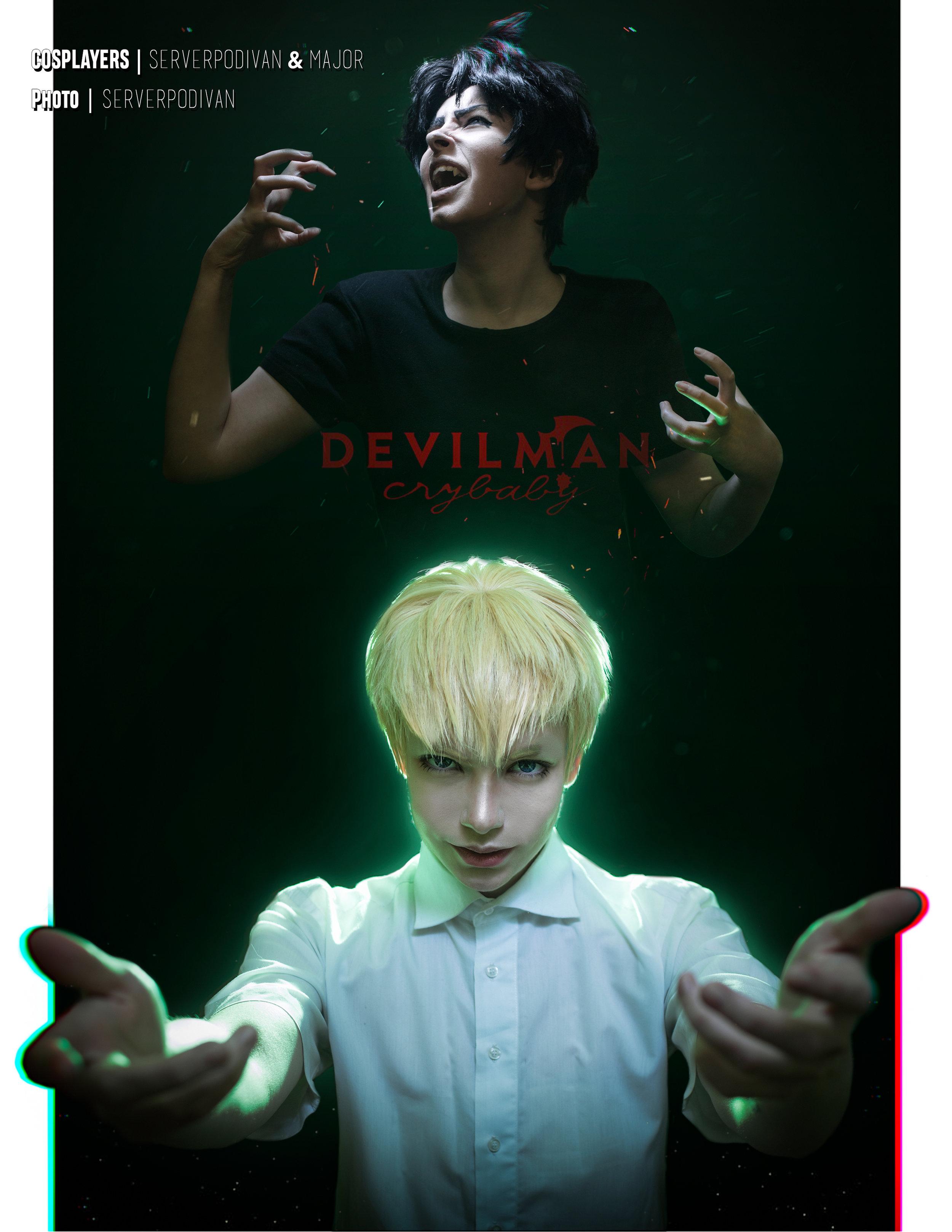 Cosplayers:  Akira Fudo:  ServerPodivan  Ryo Asuka :  Major (@Dryania)  Photo: ServerPodivan