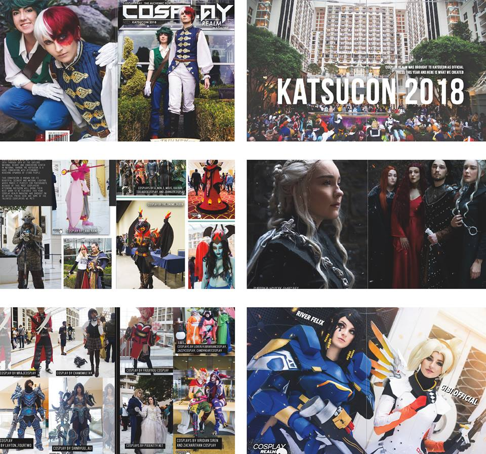 Cosplay Realm Magazine's 2018 Katsucon Coverage