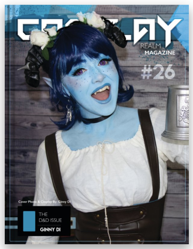 D&D Issue #26 - Cover Feature: Ginny Di!